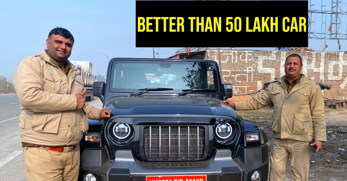 What cops think about the all-new Mahindra Thar