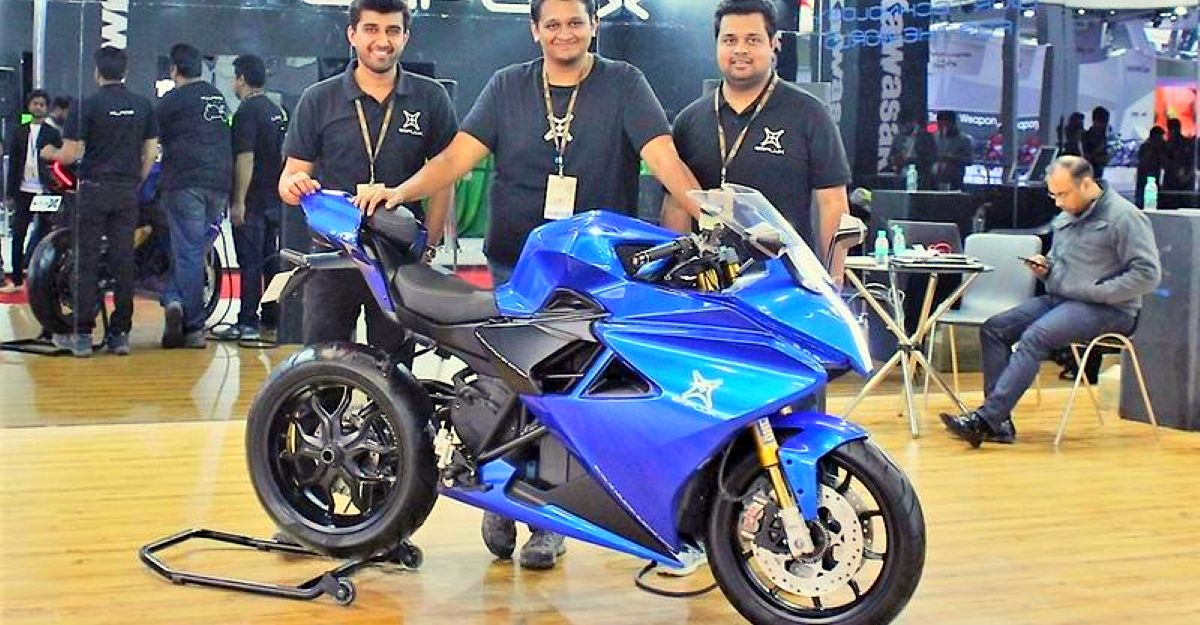 Electric motorcycles of India: Full list