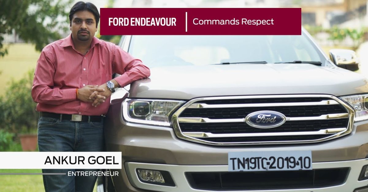 Ford Endeavour owner details why he chose the SUV over other luxury SUVs