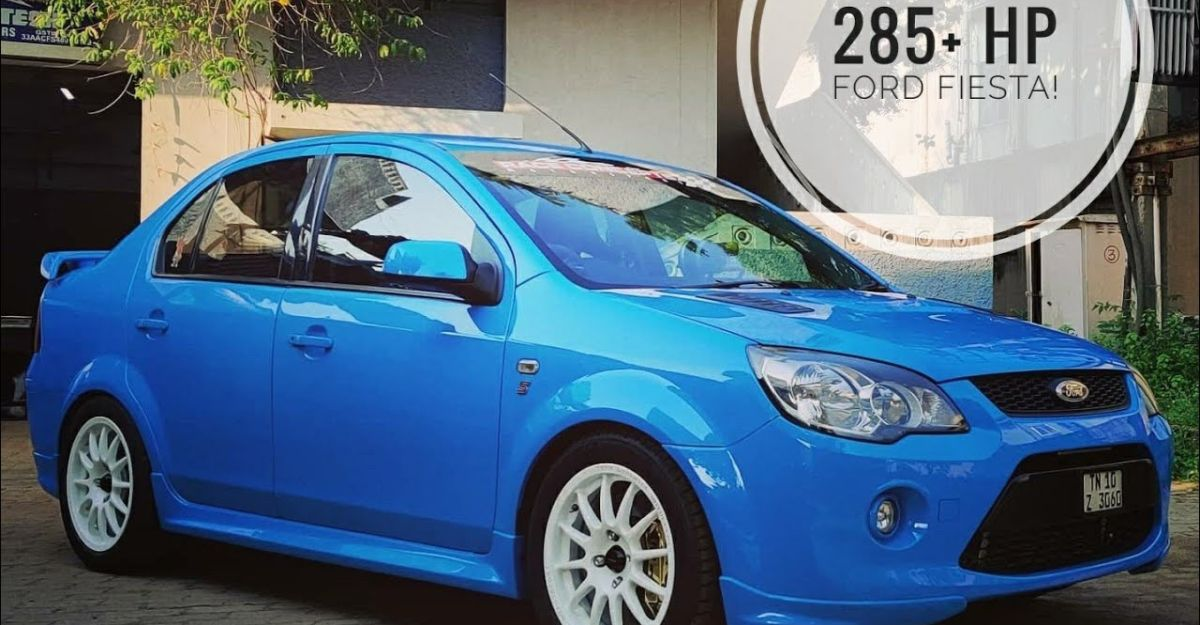 India's most POWERFUL Ford Fiesta makes 285 Bhp