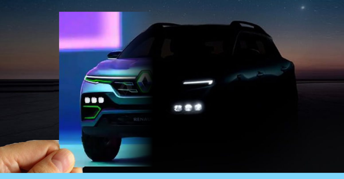 Renault Kiger compact SUV teased officially ahead of launch