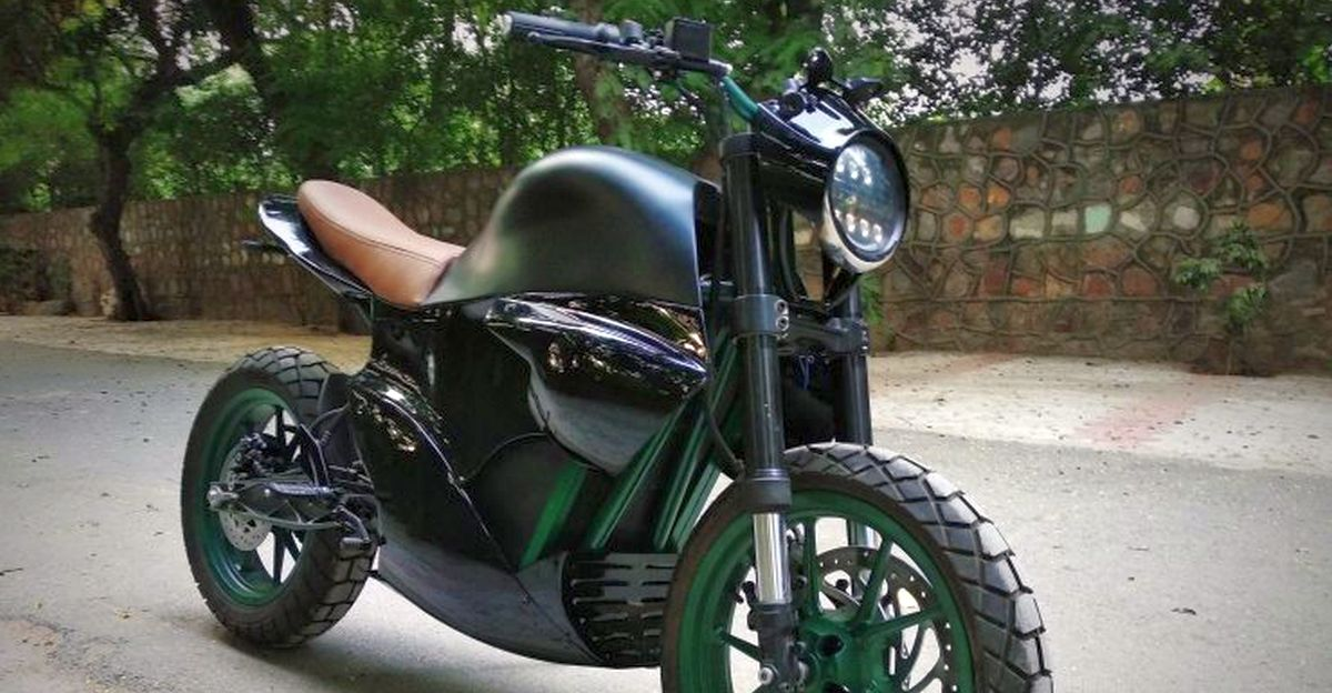 Exclusive: Made in India, high performance M2 electric motorcycle RIDDEN