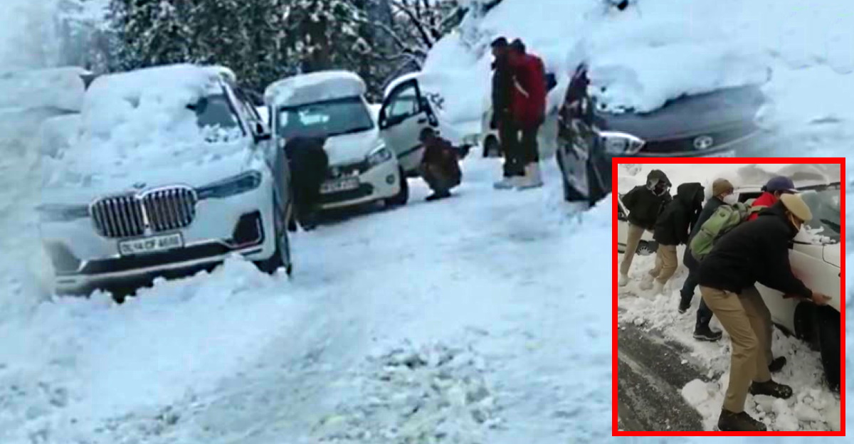 Himachal Pradesh Police rescue over 300 stranded tourists at Atal Tunnel