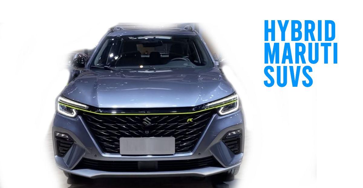 Maruti Suzuki YFG & YTB code-named SUVs to get hybrid technology