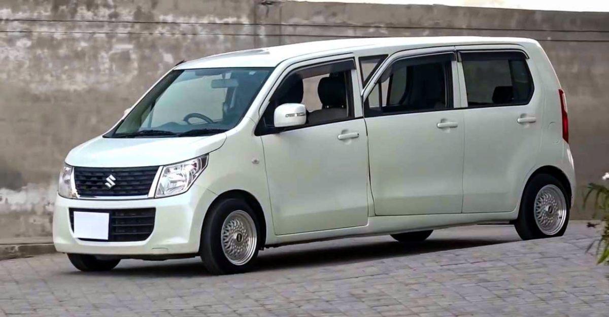 Maruti Suzuki WagonR modified into a limousine for just Rs. 2.3 lakh