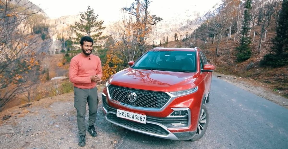 MG Hector SUV reviewed after 20,000 Kms