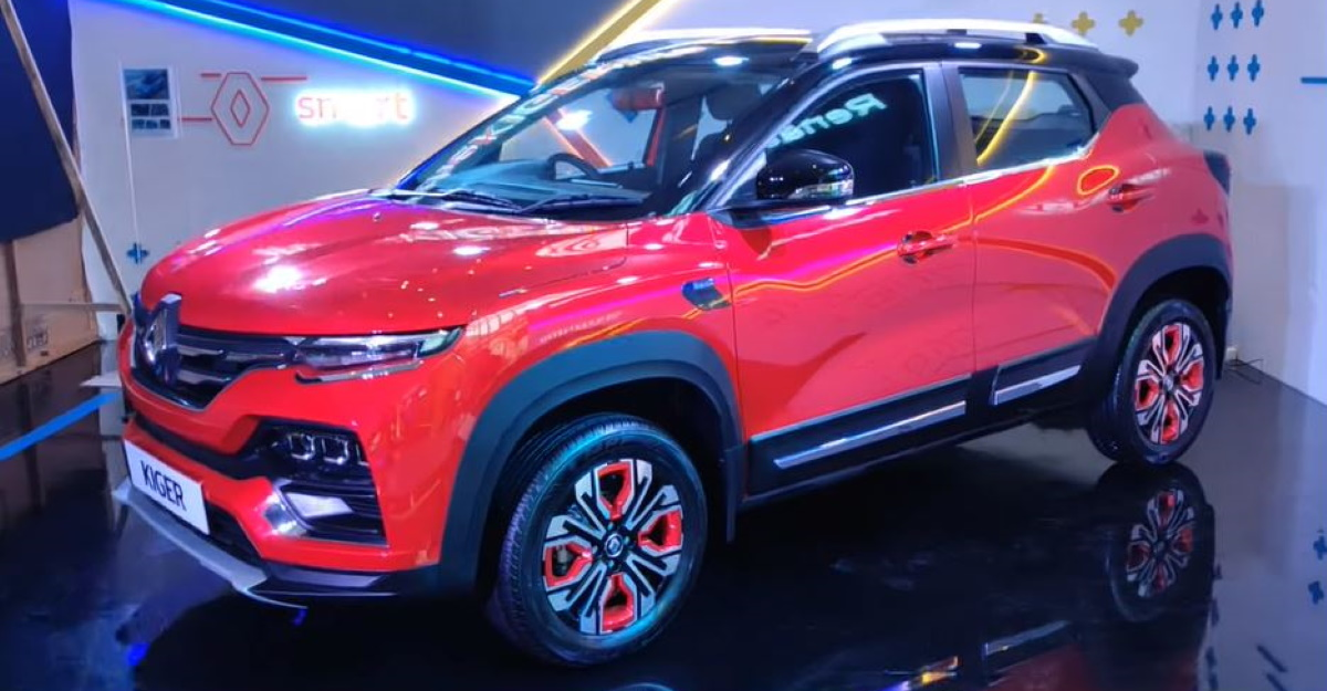 Renault Kiger sub-4 meter compact SUV: Official accessories revealed