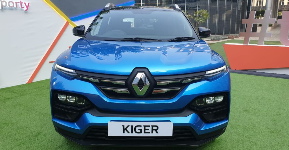 Renault Kiger sub-4 meter compact SUV officially unveiled in India