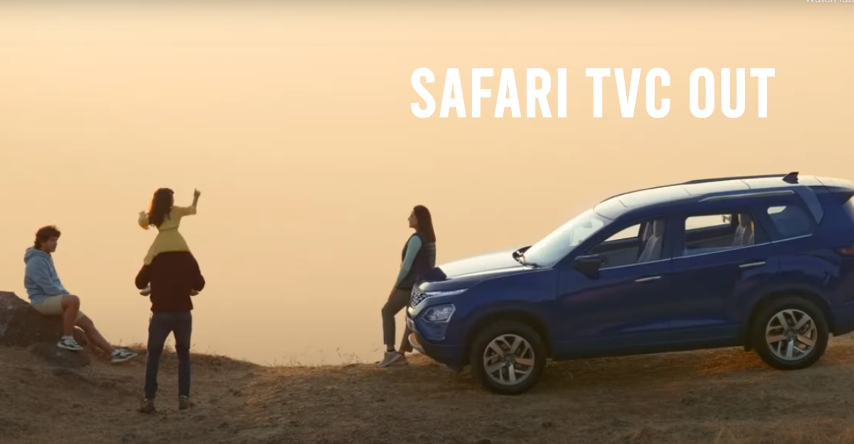 All-new Tata Safari: TVC shows all the features [video]
