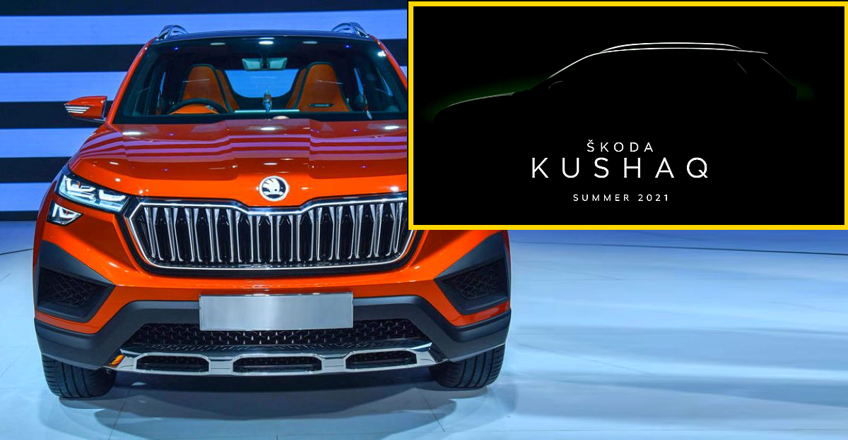 Skoda Kushaq compact SUV teased on official website ahead of India launch