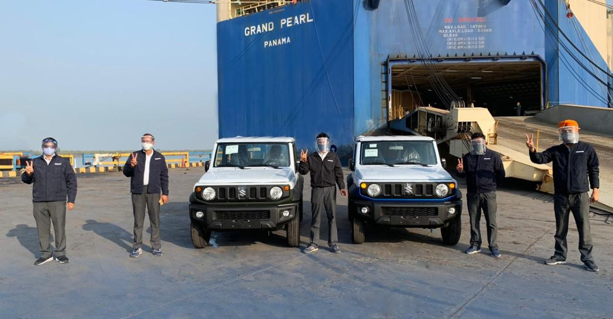 Exports of Made-in-India Suzuki Jimny commence, India-launch later this year
