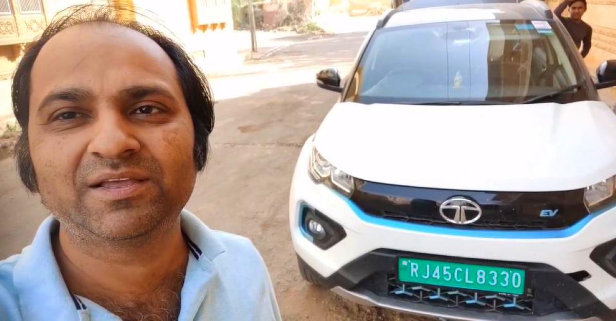 How to drive an EV long distance: Man who drove Nexon Electric SUV to India-Pakistan border explains