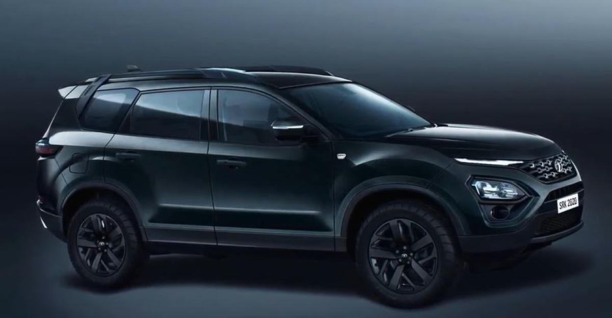All-new Tata Safari Dark Edition: What it'll look like