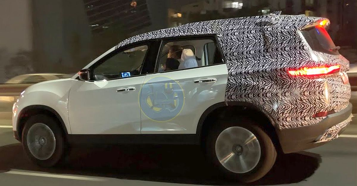 All-new Tata Safari shows off its street presence on video, towers over the Toyota Innova Crysta