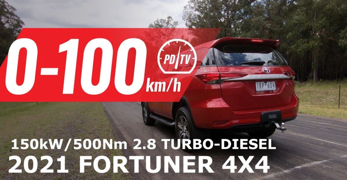 Toyota Fortuner with 500 Nm is the FASTEST SUV in its segment