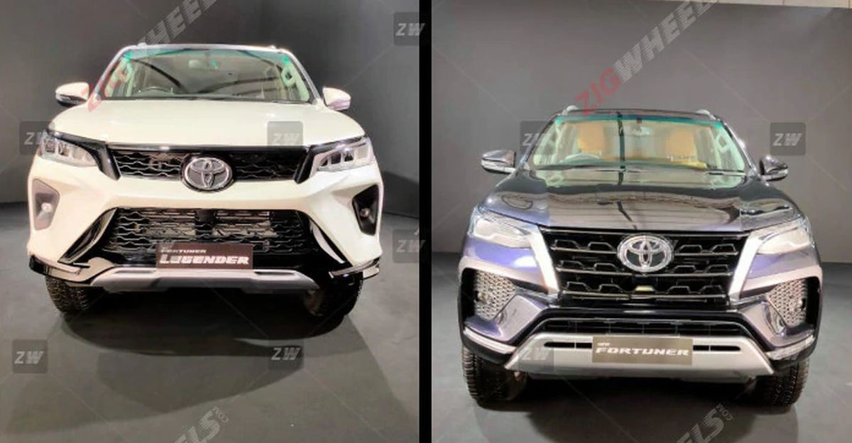 2021 Toyota Fortuner SUV pictures out before official launch