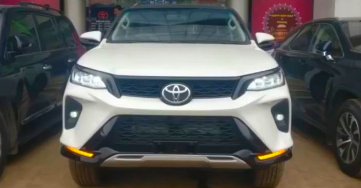 A closer look at the facelifted Toyota Fortuner & Legender