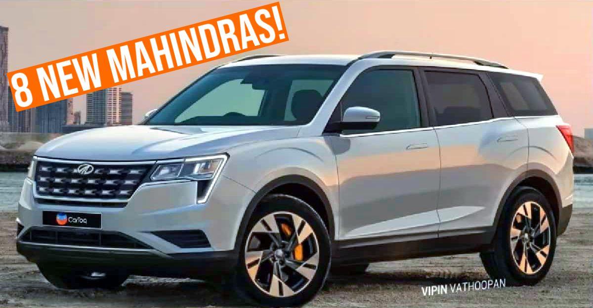 8 new Mahindra SUVs launching in 2021