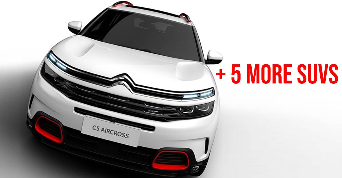 6 new SUVs launching/getting unveiled in the next 50 days