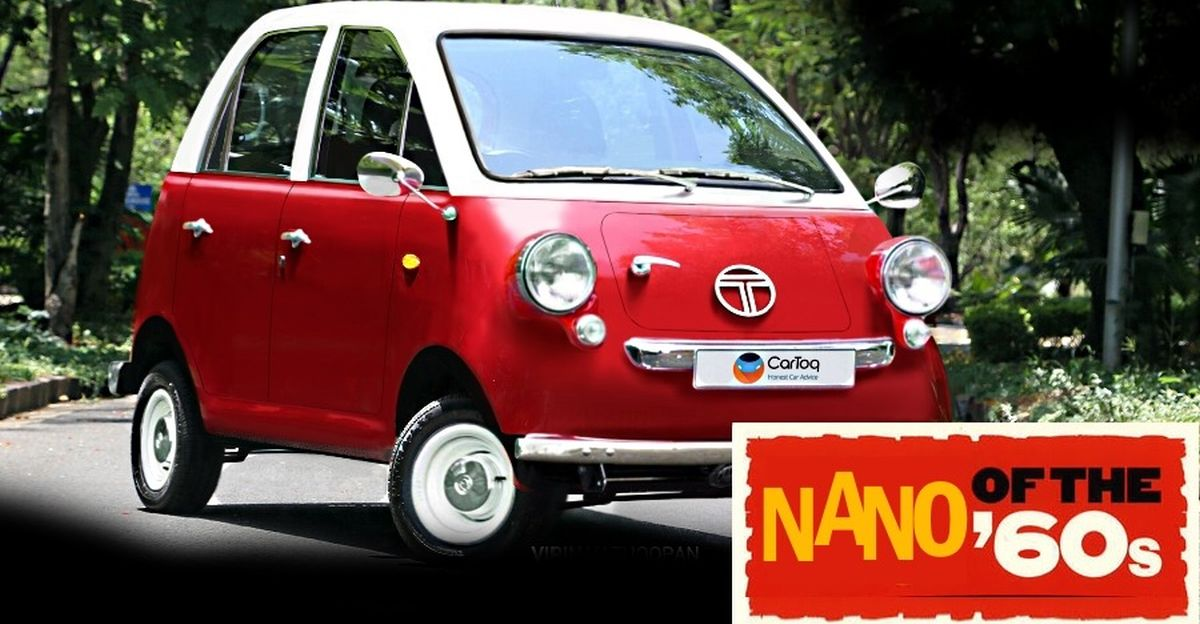 Tata Nano in the 1960s: What it would have looked like