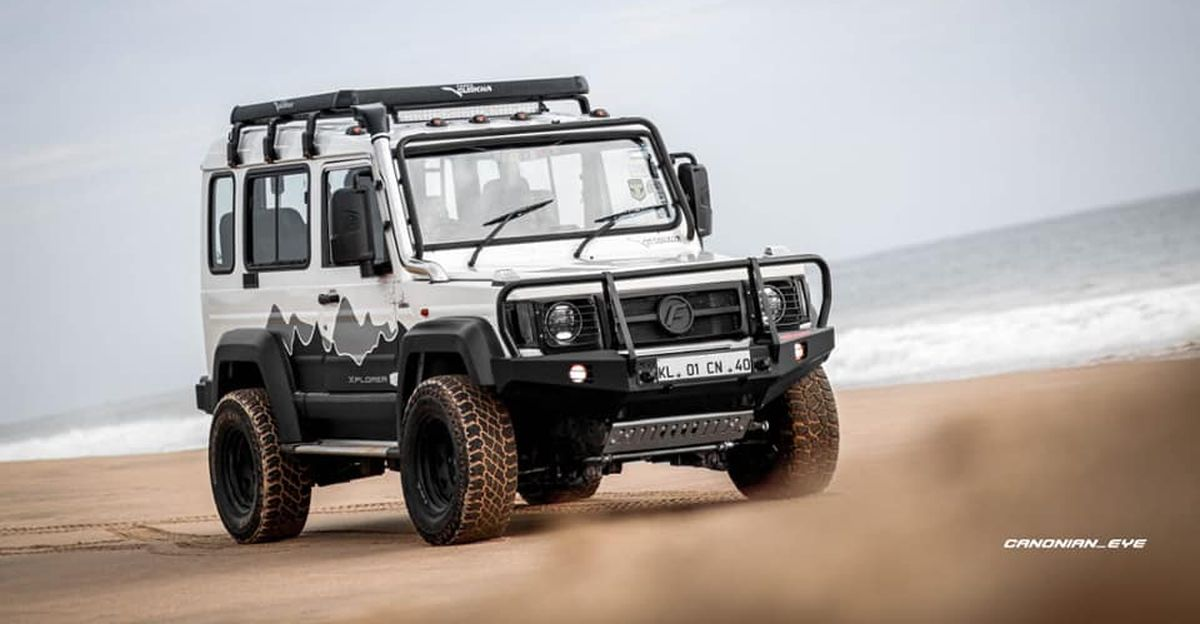 Tastefully modified used 2019 Force Gurkha 4×4 SUV for sale
