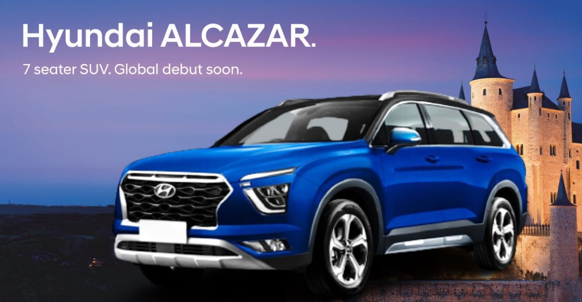 Hyundai Alcazar is the official name of the upcoming 7-seat SUV