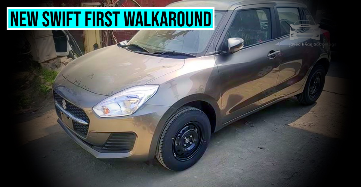 A closer look at the facelifted Maruti Suzuki Swift on video