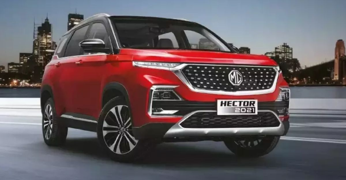 2021 MG Hector & Hector Plus CVT automatic SUVs launched at Rs. 16.51 lakhs & Rs. 17.21 lakhs