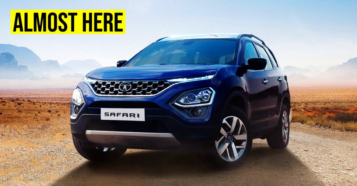 All-new Tata Safari SUV's launch date officially revealed