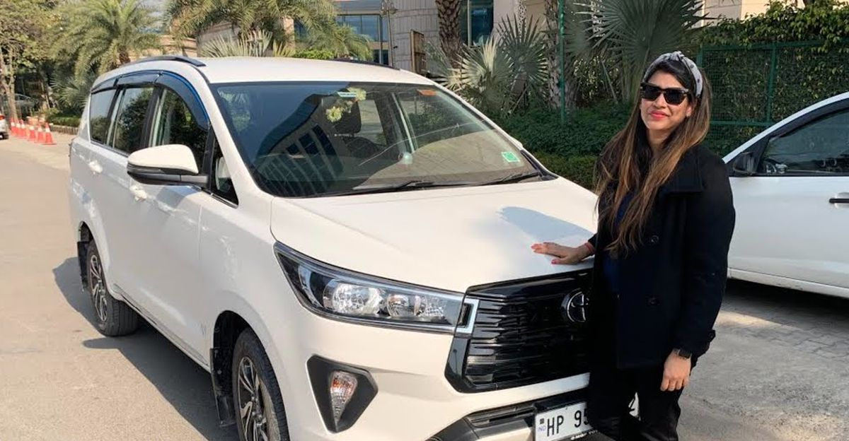 Facelifted 2020 Toyota Innova Crysta's Base trim modified to look like top-end trim