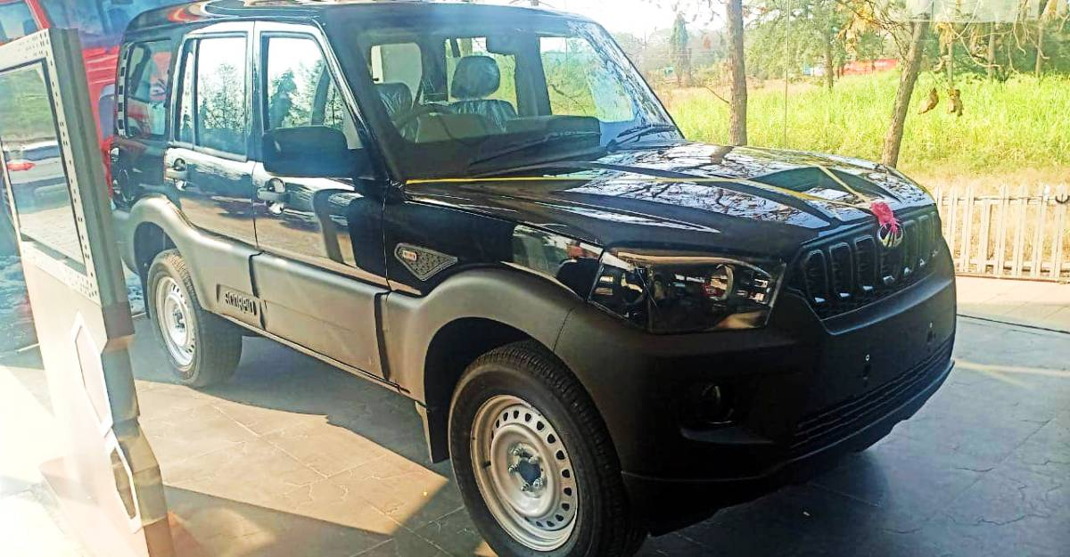 Mahindra Scorpio S3: Live pictures of the most affordable Scorpio