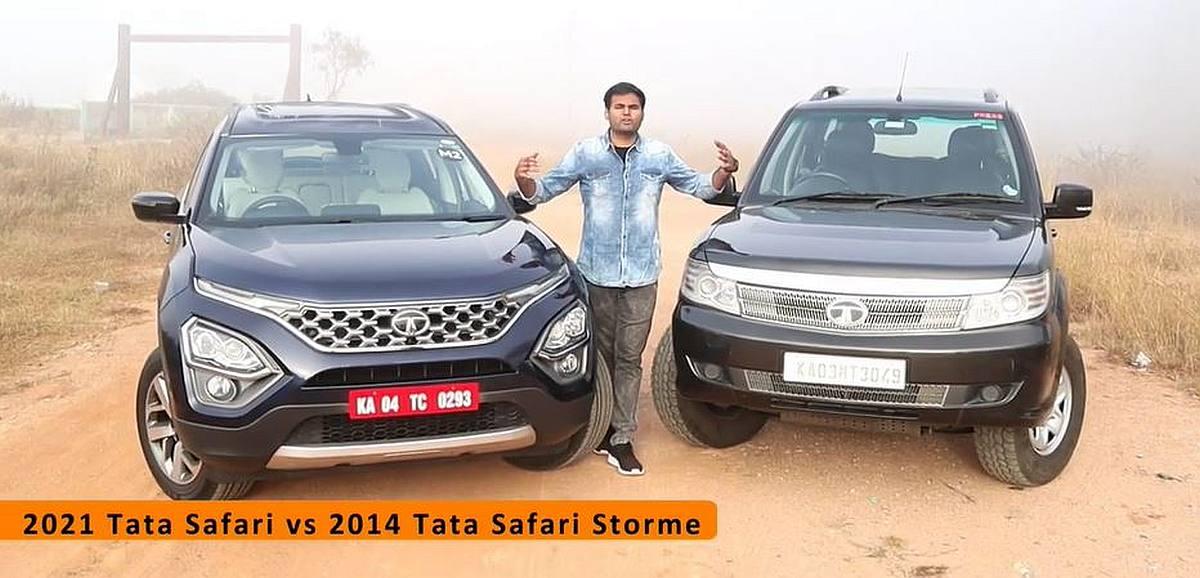 All-new Tata Safari compared with Safari Storme