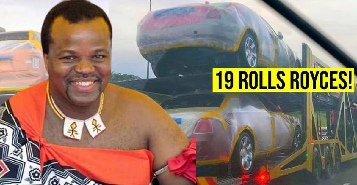 King of poverty-stricken African nation buys 19 Rolls Royces worth Rs. 175 crores for 'his wives'
