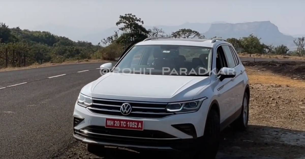 Facelifted Volkswagen Tiguan spied testing: 5 seat version coming back