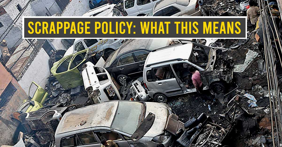 Budget 2021: Auto scrappage policy announced – What you should know