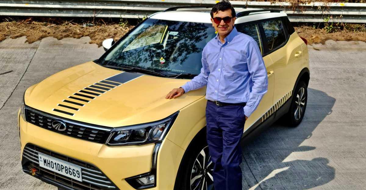 Mahindra's Executive Director buys a customized XUV300 compact SUV