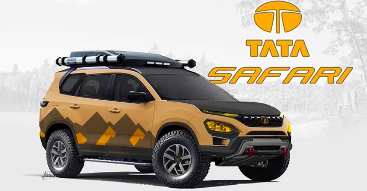 All-new Tata Safari imagined as an off-road camper