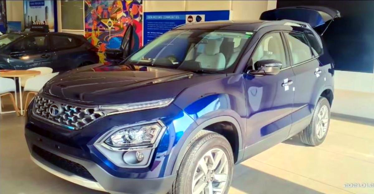 All-new Tata Safari SUV arrives at dealerships, bookings open
