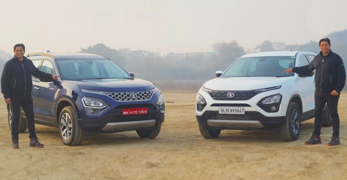All-new 2021 Tata Safari and Harrier: How do they compare?