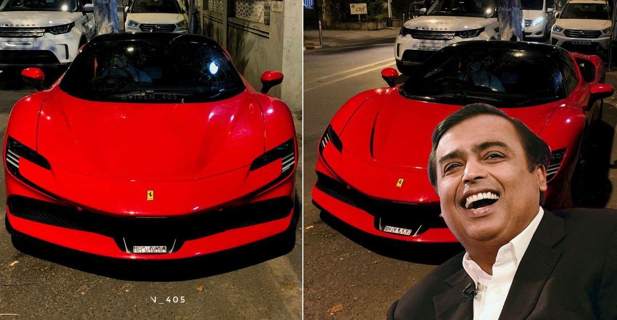 Mukesh Ambani family adds a brand new Ferrari SF90 Stradale supercar to their garage