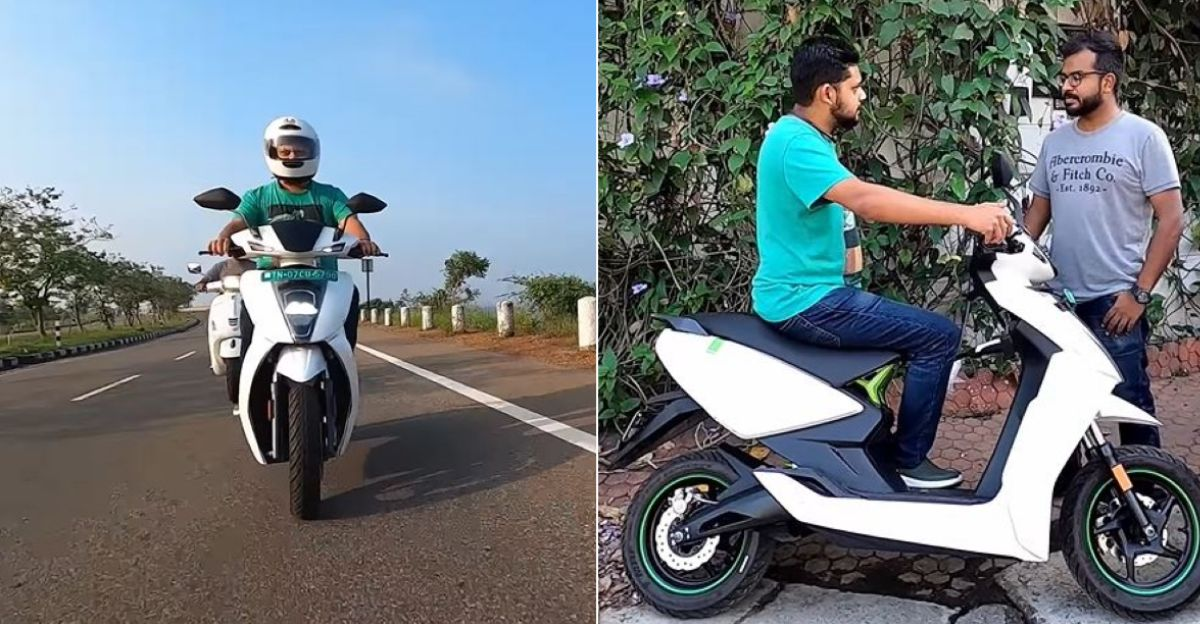 Ather 450 electric scooter owner reviews after using it for 1 year