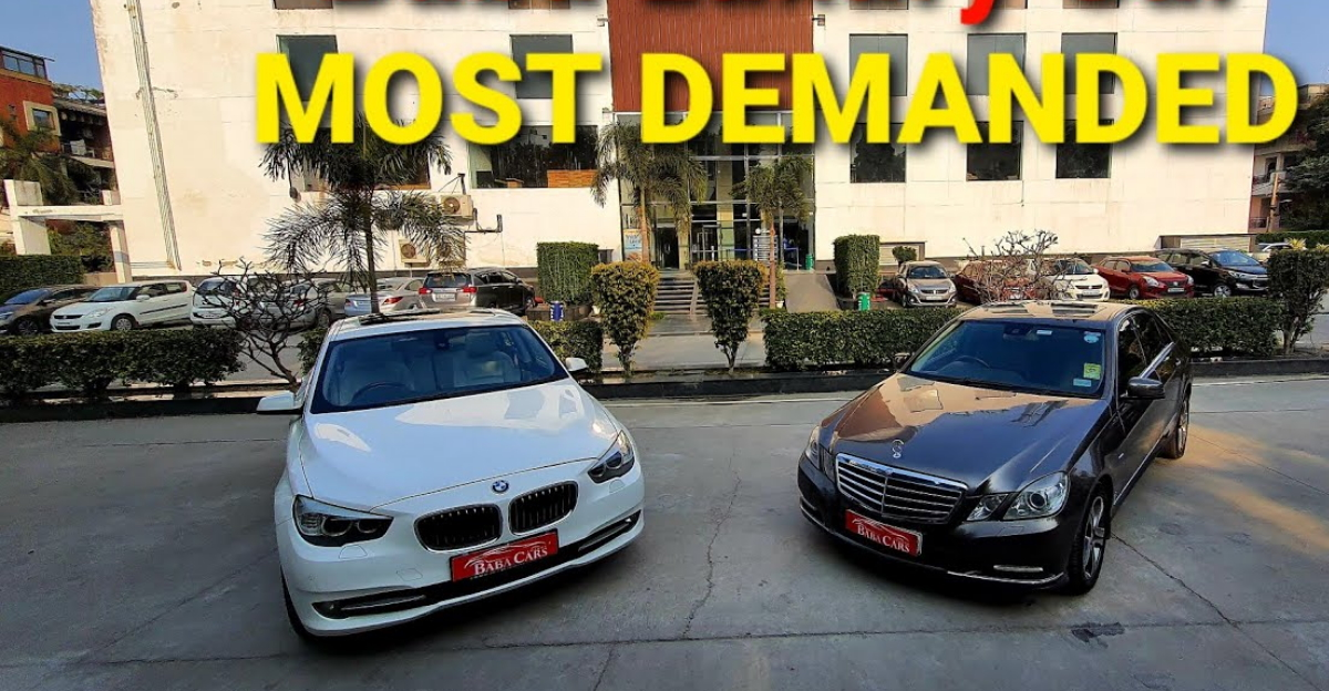 Pre-owned BMW & Mercedes cars at the price of mid-size sedans