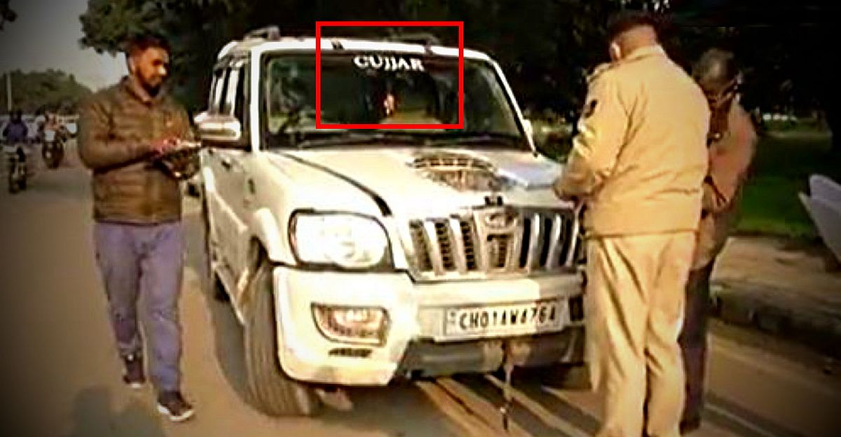 Gurugram Police to launch new crackdown on vehicles with caste stickers