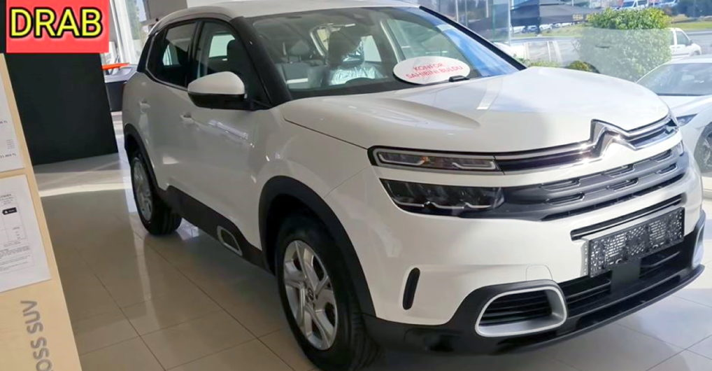 Citroen C5 AirCross caught on video at dealership ahead of launch - CarToq.com