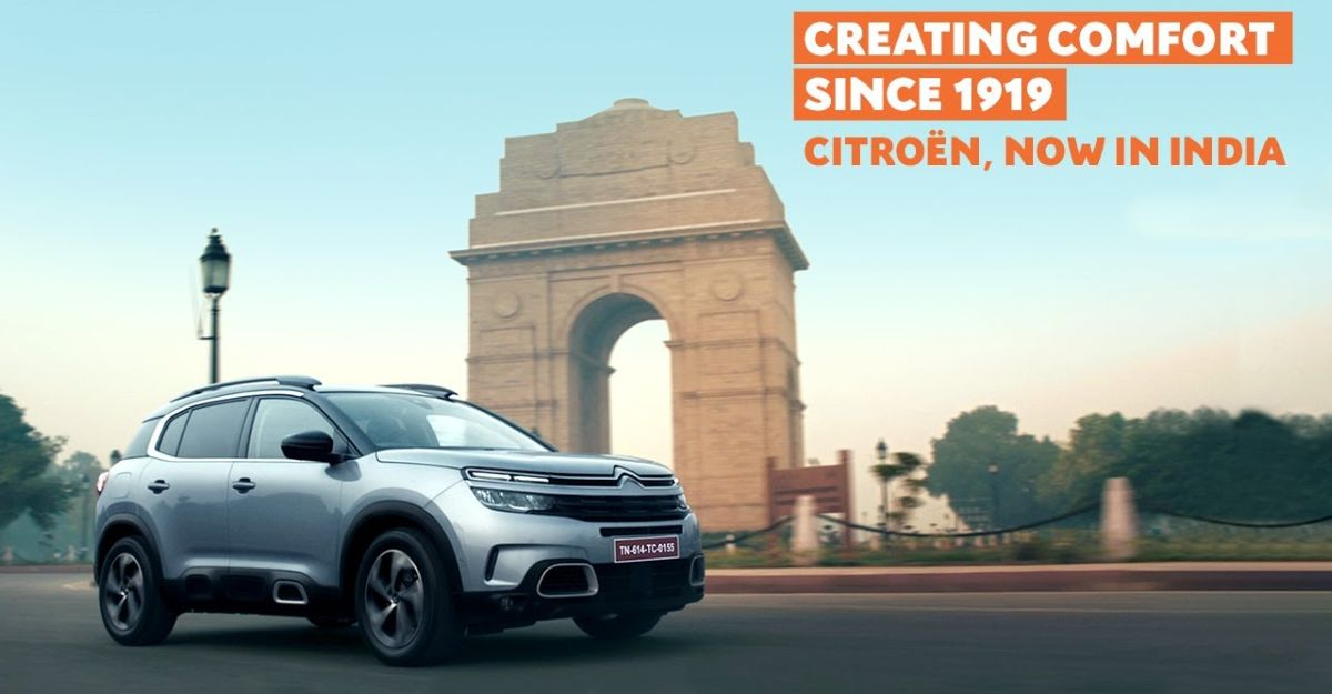 Citroen releases brand film to celebrate India-entry and C5 AirCross SUV's arrival