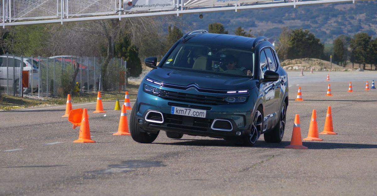 Citroen C5 Aircross SUV put through a moose test
