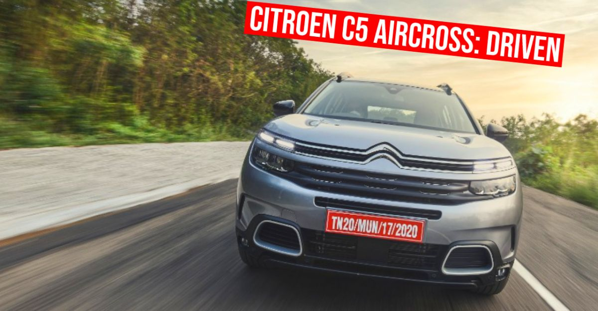 Citroen C5 Aircross SUV in CarToq's first drive review