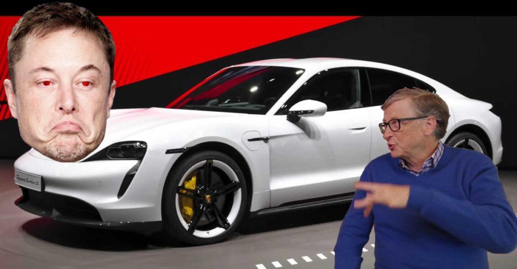 Elon Musk calls Bill Gates 'underwhelming' for buying a Porsche Taycan - CarToq.com