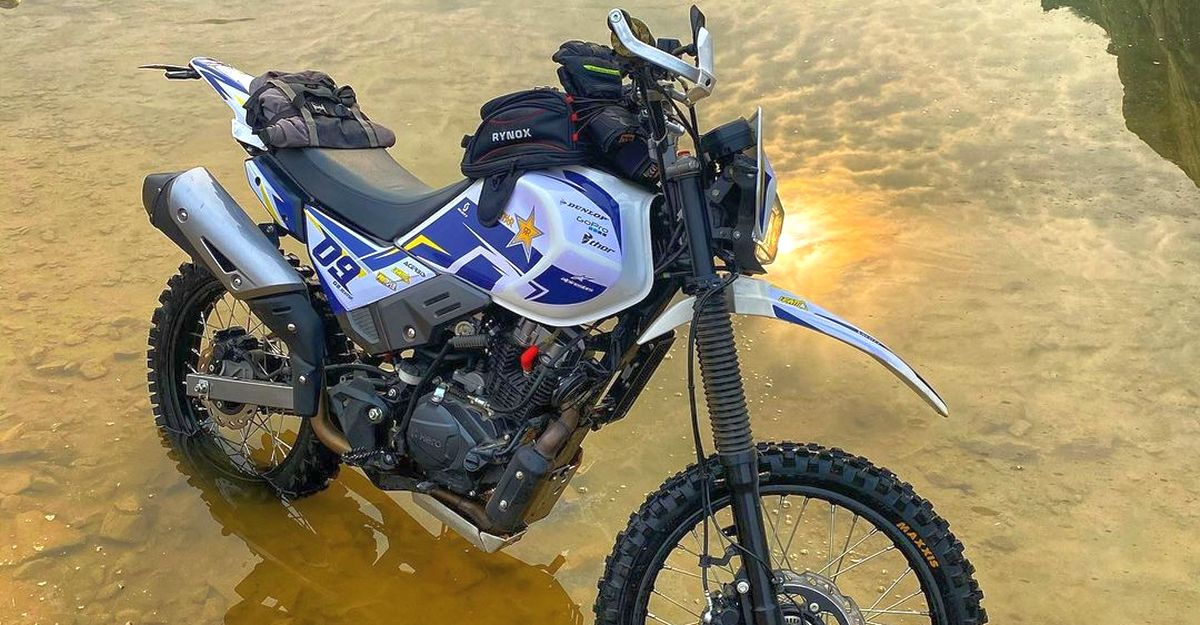 Gorgeously modified Hero XPulse 200 looks ready for adventure