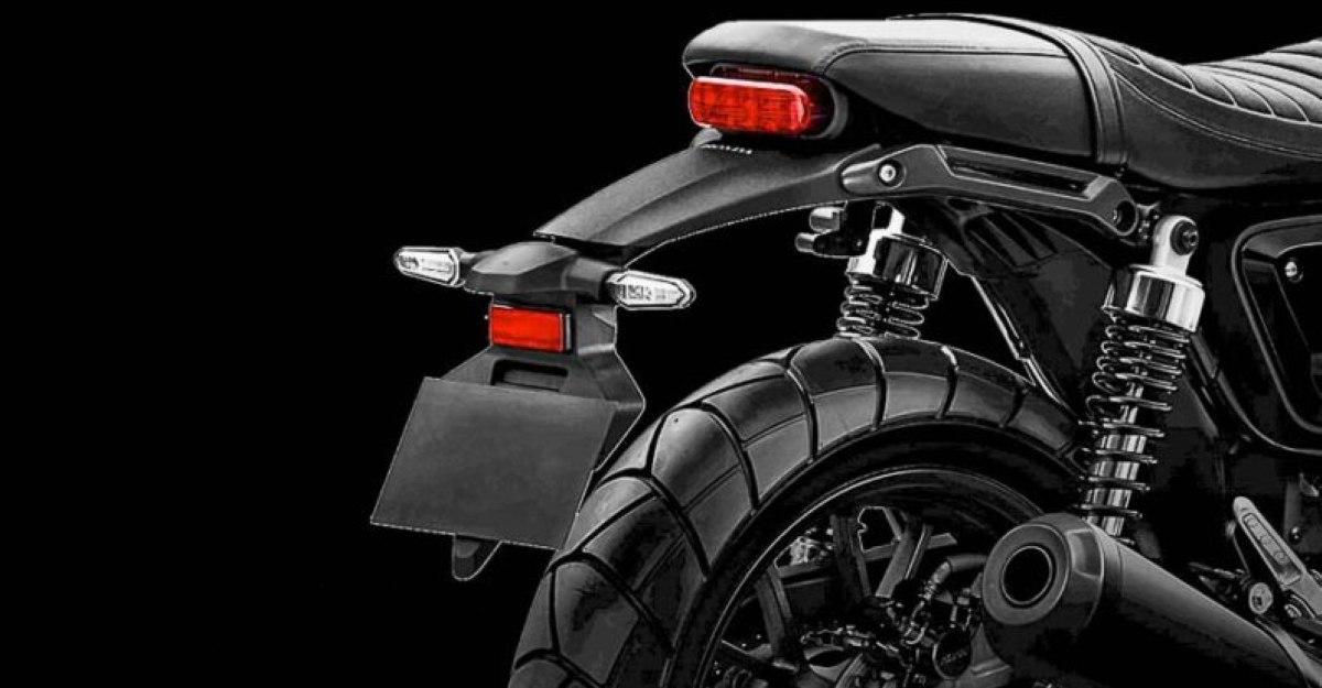 Honda H'ness CB350-based cafe racer teased ahead of Feb 16th launch